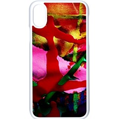 Red Cross 6 Apple Iphone X Seamless Case (white) by bestdesignintheworld