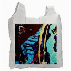 Roundway Ticket 1 Recycle Bag (one Side) by bestdesignintheworld