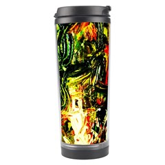 Sunset In A Desert Of Mexico 1 Travel Tumbler by bestdesignintheworld