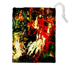 Sunset In A Desert Of Mexico 1 Drawstring Pouches (xxl) by bestdesignintheworld