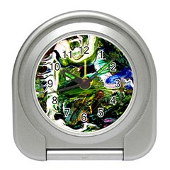 Bow Of Scorpio Before A Butterfly 8 Travel Alarm Clocks by bestdesignintheworld