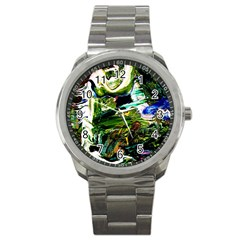 Bow Of Scorpio Before A Butterfly 8 Sport Metal Watch by bestdesignintheworld
