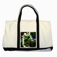 Bow Of Scorpio Before A Butterfly 8 Two Tone Tote Bag by bestdesignintheworld