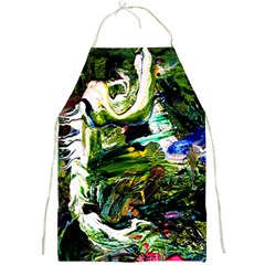 Bow Of Scorpio Before A Butterfly 8 Full Print Aprons by bestdesignintheworld