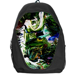 Bow Of Scorpio Before A Butterfly 8 Backpack Bag by bestdesignintheworld