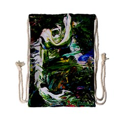 Bow Of Scorpio Before A Butterfly 8 Drawstring Bag (small) by bestdesignintheworld