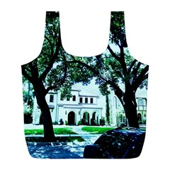 Hot Day In Dallas 16 Full Print Recycle Bags (l)  by bestdesignintheworld