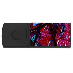 Sacred Knowledge 1 Rectangular Usb Flash Drive by bestdesignintheworld