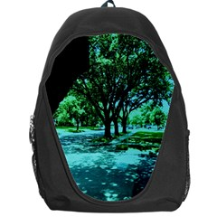 Hot Day In Dallas 5 Backpack Bag by bestdesignintheworld