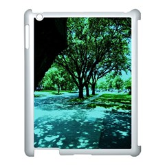 Hot Day In Dallas 5 Apple Ipad 3/4 Case (white) by bestdesignintheworld