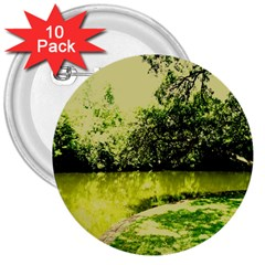 Lake Park 9 3  Buttons (10 Pack)  by bestdesignintheworld