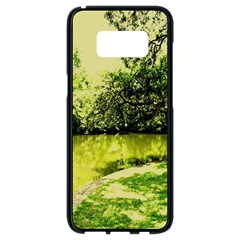Lake Park 9 Samsung Galaxy S8 Black Seamless Case by bestdesignintheworld