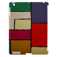 Color Block Art Painting Apple Ipad 3/4 Hardshell Case (compatible With Smart Cover) by goodart