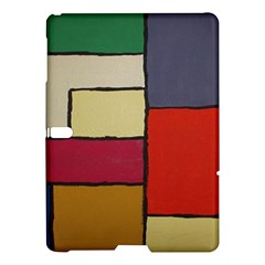 Color Block Art Painting Samsung Galaxy Tab S (10 5 ) Hardshell Case  by goodart