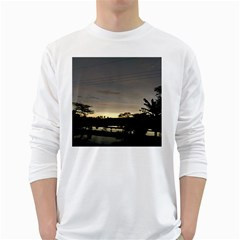 Photography Sunset White Long Sleeve T-shirts by goodart