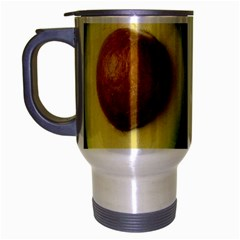 Fruit Avocado Travel Mug (silver Gray) by goodart