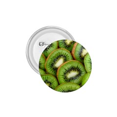 Sliced And Open Kiwi Fruit 1 75  Buttons by goodart