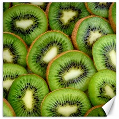 Sliced And Open Kiwi Fruit Canvas 16  X 16   by goodart