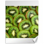 Sliced And Open Kiwi Fruit Canvas 18  x 24   24 x18 Canvas - 1