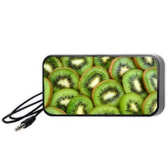 Sliced And Open Kiwi Fruit Portable Speaker