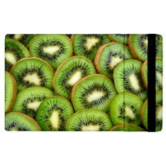 Sliced And Open Kiwi Fruit Apple Ipad 2 Flip Case