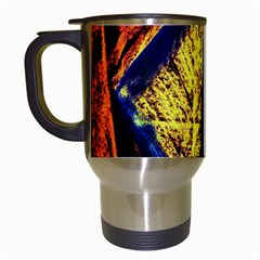 Cryptography Of The Planet 9 Travel Mugs (white) by bestdesignintheworld