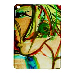 Girl In A Blue Tank Top Ipad Air 2 Hardshell Cases by bestdesignintheworld