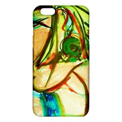 Girl In A Blue Tank Top Iphone 6 Plus/6s Plus Tpu Case by bestdesignintheworld