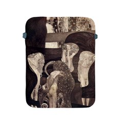 Jurisprudence   Gustav Klimt Apple Ipad 2/3/4 Protective Soft Cases by Valentinaart