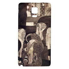 Jurisprudence   Gustav Klimt Galaxy Note 4 Back Case by Valentinaart