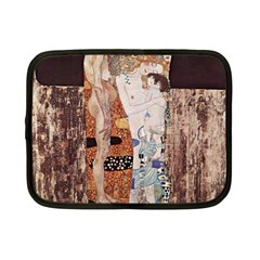 The Three Ages Of Woman  Gustav Klimt Netbook Case (small)