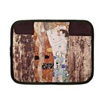 The Three Ages of Woman- Gustav Klimt Netbook Case (Small)  Front