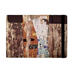 The Three Ages Of Woman  Gustav Klimt Apple Ipad Mini Flip Case by Valentinaart