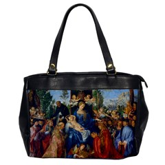 Feast Of The Rosary   Albrecht Dürer Office Handbags