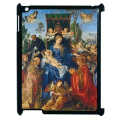 Feast Of The Rosary   Albrecht Dürer Apple Ipad 2 Case (black) by Valentinaart