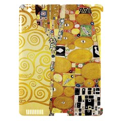The Embrace   Gustav Klimt Apple Ipad 3/4 Hardshell Case (compatible With Smart Cover) by Valentinaart
