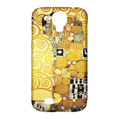 The Embrace   Gustav Klimt Samsung Galaxy S4 Classic Hardshell Case (pc+silicone) by Valentinaart