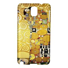 The Embrace   Gustav Klimt Samsung Galaxy Note 3 N9005 Hardshell Case by Valentinaart
