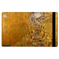 Adele Bloch Bauer I   Gustav Klimt Apple Ipad 3/4 Flip Case by Valentinaart