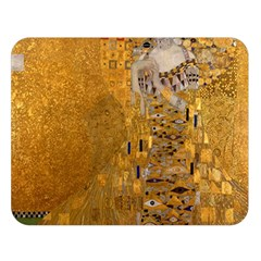 Adele Bloch Bauer I   Gustav Klimt Double Sided Flano Blanket (large)  by Valentinaart