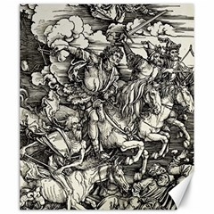 Four Horsemen Of The Apocalypse   Albrecht Dürer Canvas 20  X 24