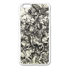 Four Horsemen Of The Apocalypse   Albrecht Dürer Apple Iphone 6 Plus/6s Plus Enamel White Case