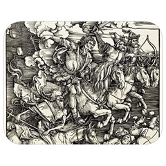 Four Horsemen Of The Apocalypse   Albrecht Dürer Full Print Lunch Bag
