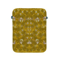 Golden Stars In Modern Renaissance Style Apple Ipad 2/3/4 Protective Soft Cases by pepitasart