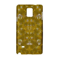 Golden Stars In Modern Renaissance Style Samsung Galaxy Note 4 Hardshell Case by pepitasart