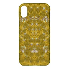 Golden Stars In Modern Renaissance Style Apple Iphone X Hardshell Case