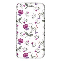 Floral Wallpaper Pattern Seamless Samsung Galaxy S5 Back Case (white) by goodart