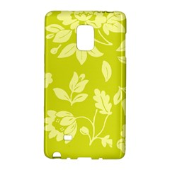 Floral Vintage Wallpaper Pattern Galaxy Note Edge by goodart