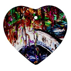 Gatchina Park Heart Ornament (two Sides) by bestdesignintheworld