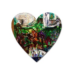 Gatchina Park 4 Heart Magnet by bestdesignintheworld